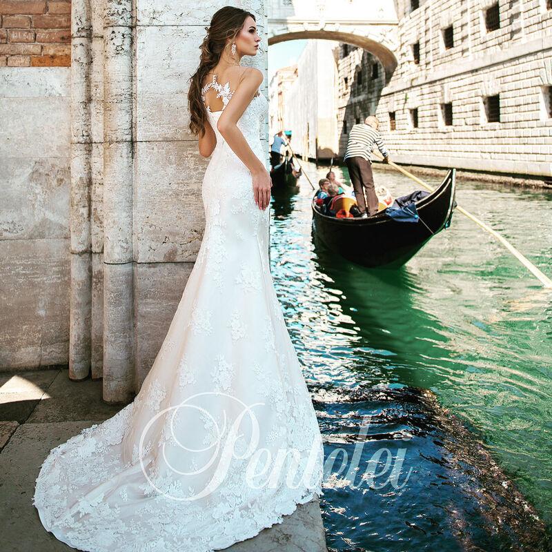 Свадебное платье напрокат Lavender Свадебное платье Valencia - фото 3