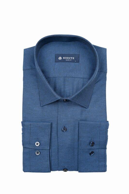 Кофта, рубашка, футболка мужская BIENTE Сорочка верхняя мужская biente BS439 - фото 1