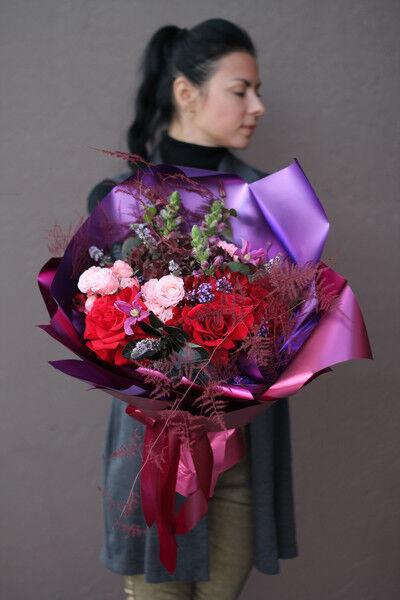 Магазин цветов Cvetok.by Букет «Лиловый» - фото 1