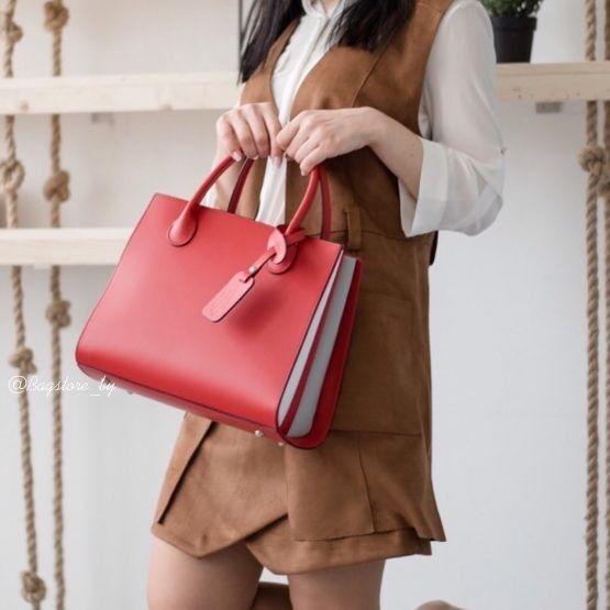Магазин сумок Vezze Кожаная женская сумка C00456 - фото 1