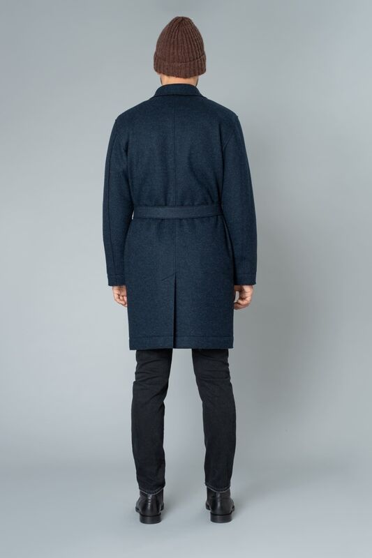 Верхняя одежда мужская Etelier Пальто мужское утепленное 6М-9524-1 - фото 5