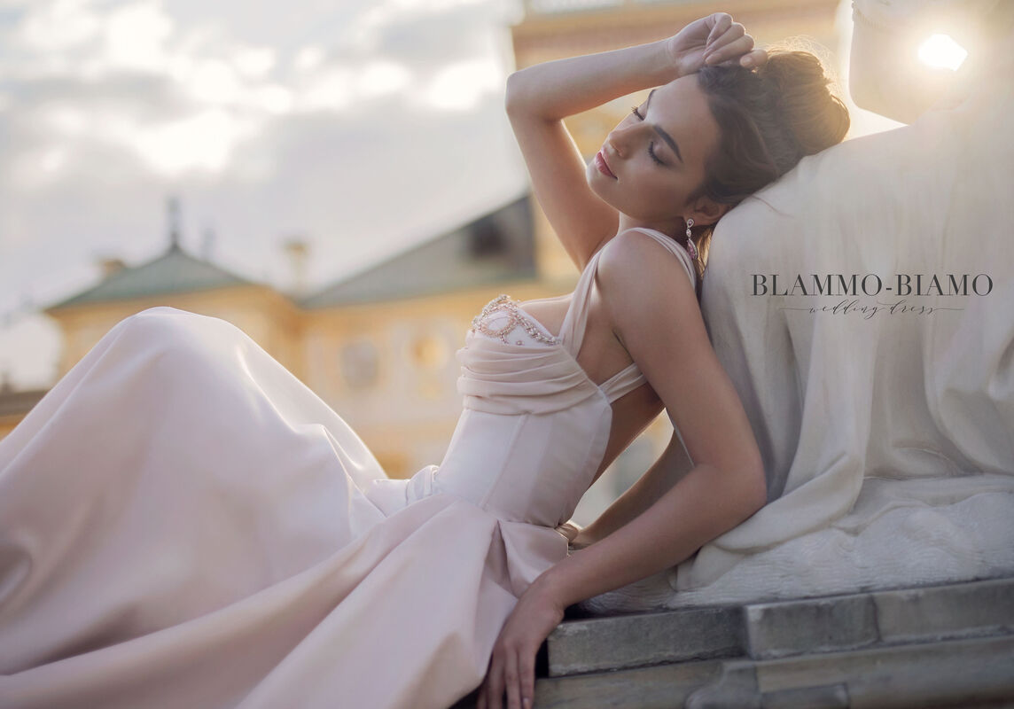Свадебное платье напрокат Blammo-Biamo Платье свадебное The Rice Lolis - фото 4