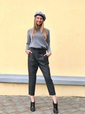 Кофта, блузка, футболка женская It's me! (Это Я!) Джемпер женский серый - фото 1