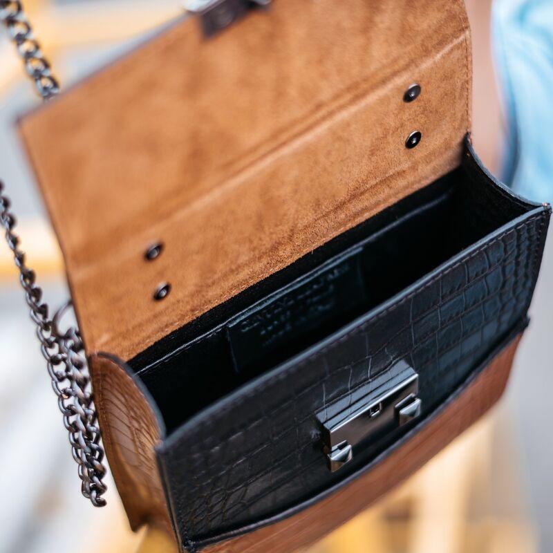 Магазин сумок Vezze Кожаная женская сумка C00532 - фото 3