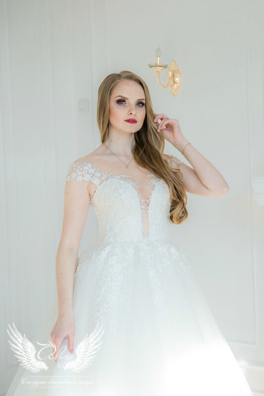 Свадебное платье напрокат ALIZA Свадебное платье Leila - фото 3