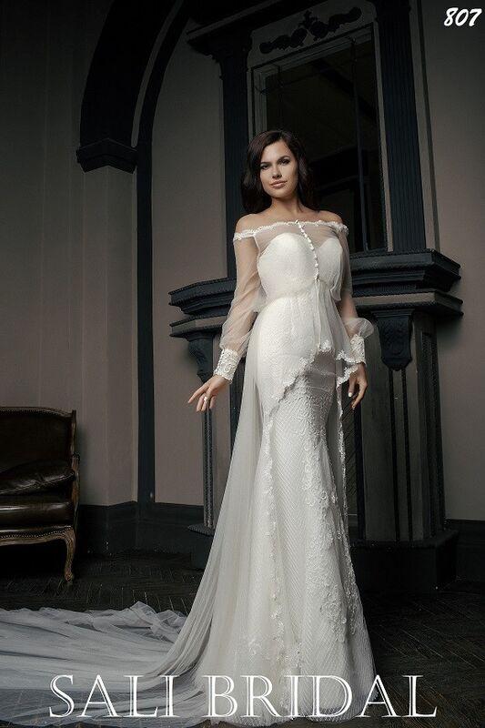 Свадебный салон Sali Bridal Свадебное платье 807 - фото 1