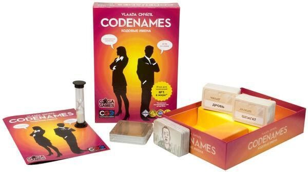 Магазин настольных игр GaGaGames Игра настольная «Codenames» - фото 2