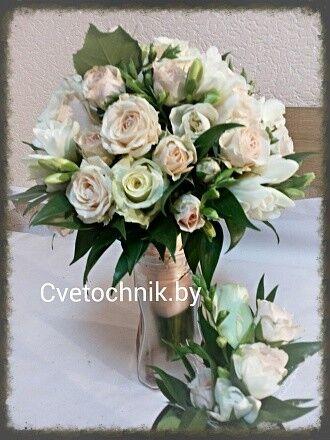 Магазин цветов Цветочник Букет невесты «Людмила» - фото 1