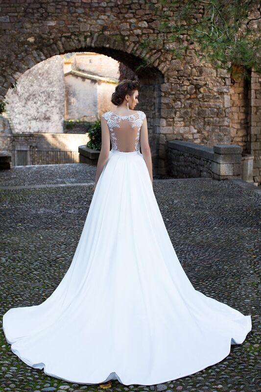Свадебный салон Bonjour Galerie Свадебное платье «Katalea» из коллекции LA SENSUALITE - фото 7