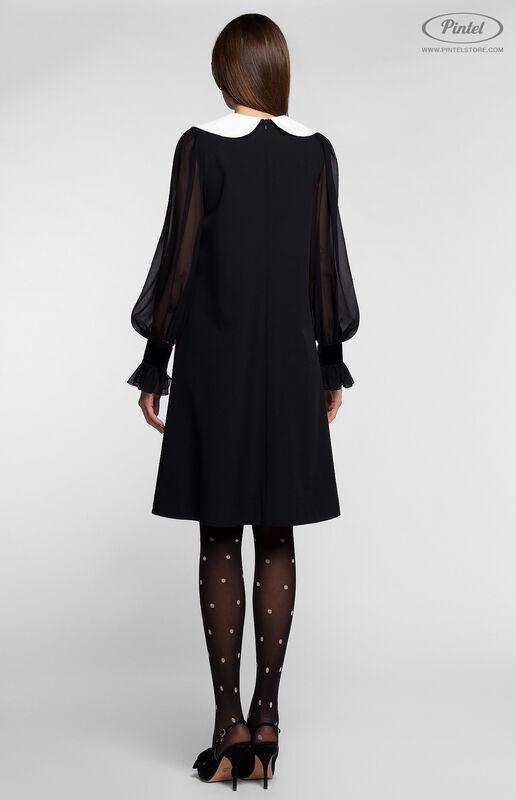 Платье женское Pintel™ Платье А-силуэта из натуральной шерсти TIFFANY - фото 3