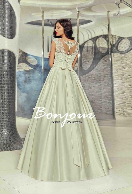 Свадебное платье напрокат Bonjour Платье свадебное «Betsi» из коллекции LAMBRE 2017 - фото 2