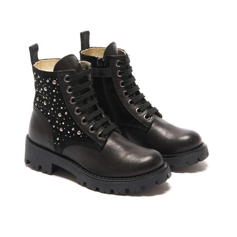 Обувь детская Monnalisa Ботинки для девочки 878021 8086 0050 - фото 1