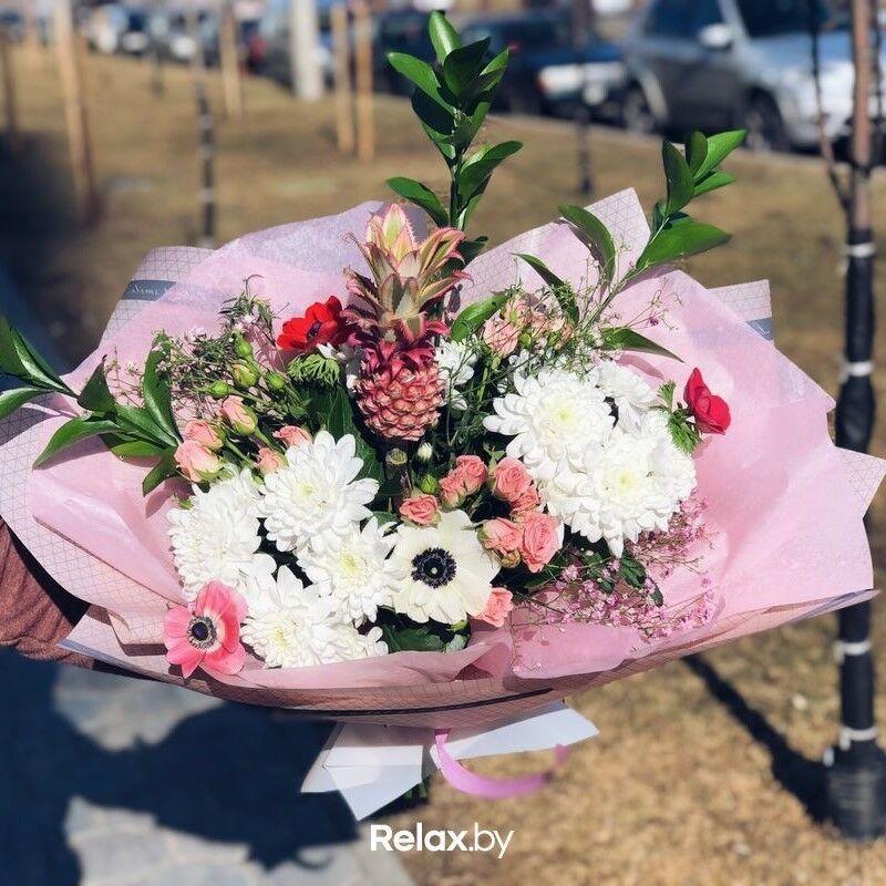 Магазин цветов Кошык кветак Букет экзотический №2 - фото 1