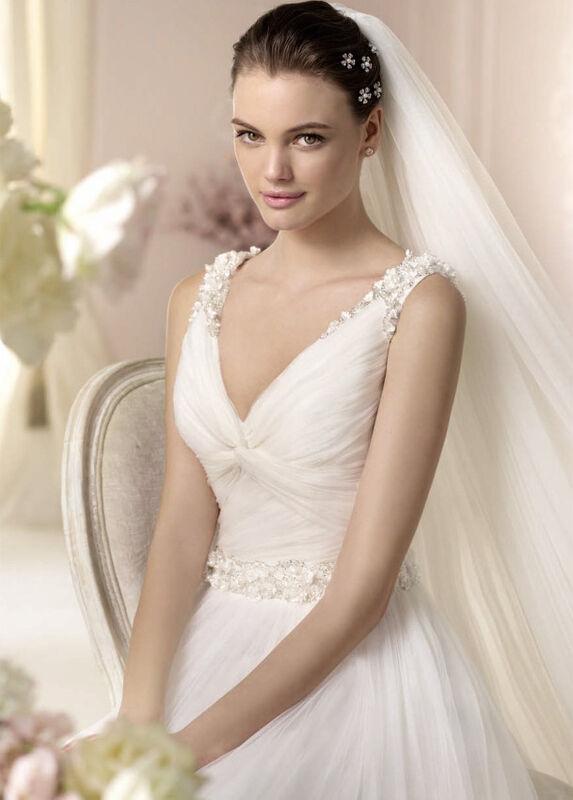 Свадебное платье напрокат White One (Pronovias) Платье свадебное «Dalina» - фото 3