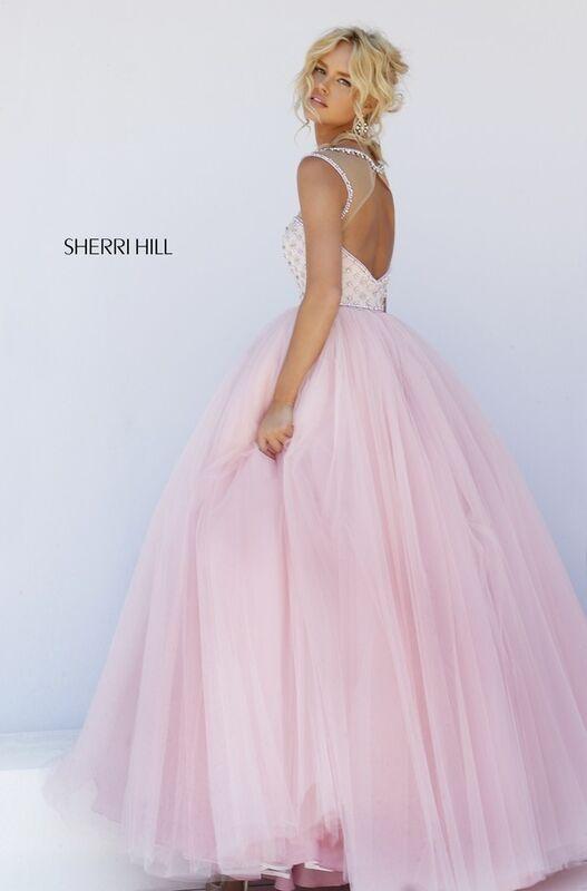 Свадебное платье напрокат Sherri Hill Платье свадебное 50008 - фото 3
