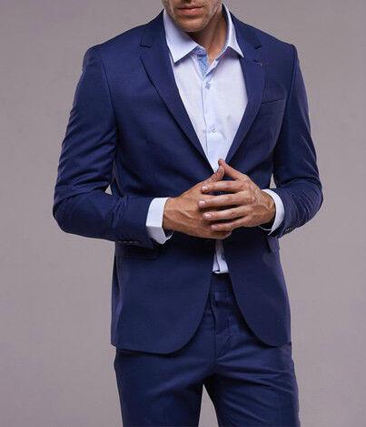 Костюм мужской Fabio Cassel Мужской костюм, цвет: лазурный-синий (F2) - фото 1