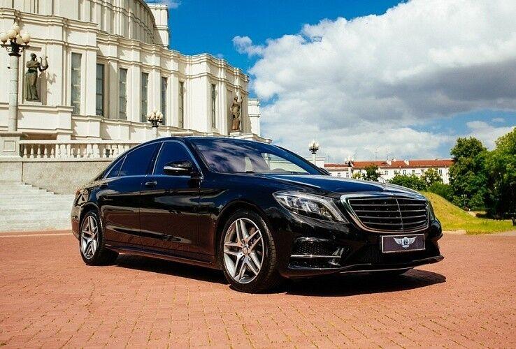 Прокат авто Mercedes-Benz W222 S-class черного цвета - фото 3