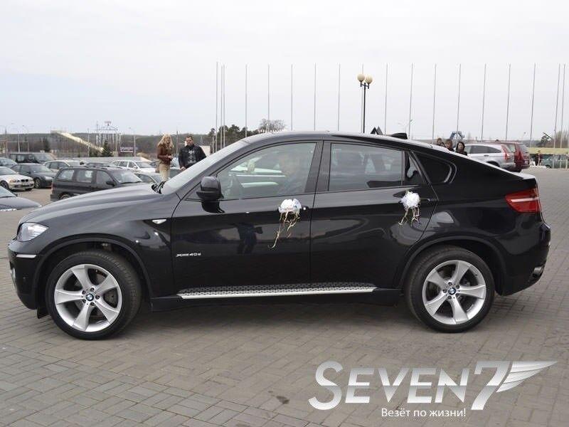 Аренда авто BMW X6 2012 г.в. - фото 1