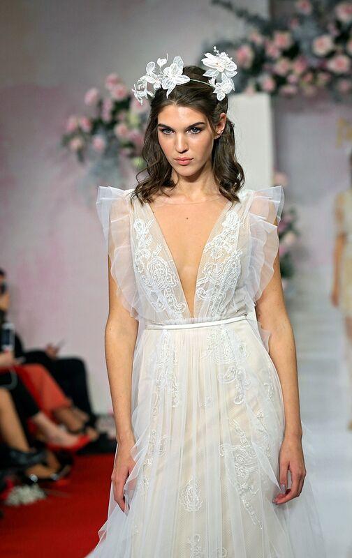 Свадебный салон Papilio Свадебное платье «Моне» модель 19/2002 - фото 5