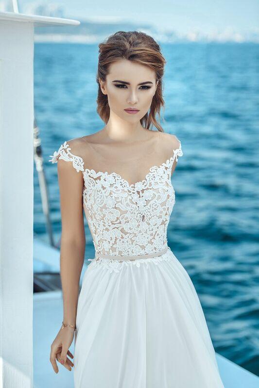 Свадебное платье напрокат Nicole Платье свадебное Lily - фото 3
