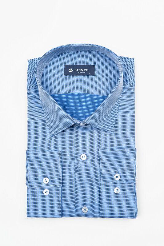 Кофта, рубашка, футболка мужская BIENTE Сорочка верхняя мужская biente BS515 - фото 1