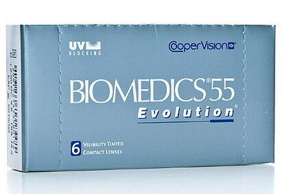 Линзы Cooper Vision Контактные линзы Biomedics 55 Evolution - фото 1