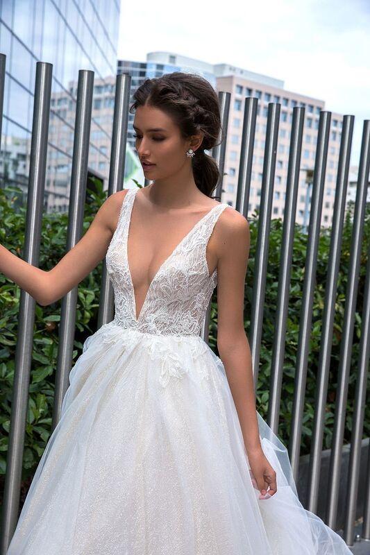 Свадебный салон Crystal Свадебное платье Sara - фото 2