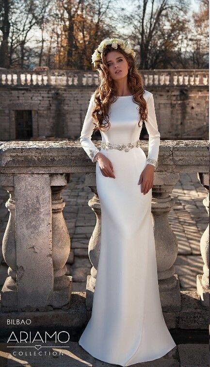 Свадебное платье напрокат Ariamo Bridal Платье свадебное Bilbao - фото 1