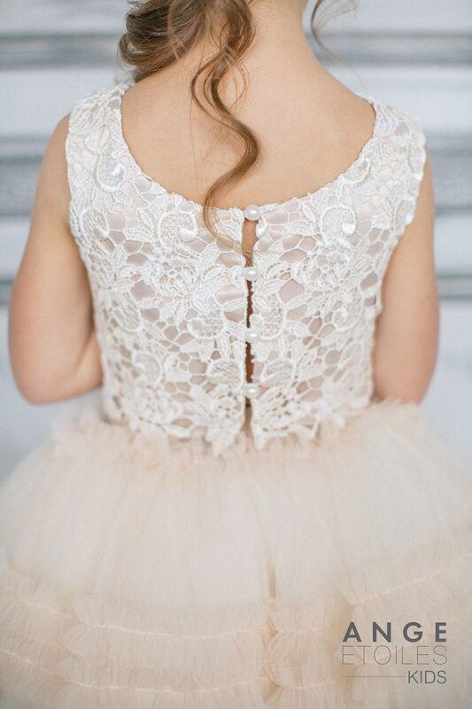 Вечернее платье Ange Etoiles Детское платье Kids Sofin - фото 4