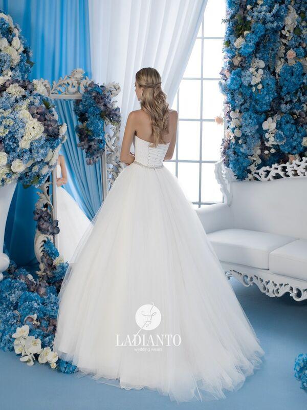 Свадебное платье напрокат Ladianto Платье свадебное D-7029 Leonzia - фото 2