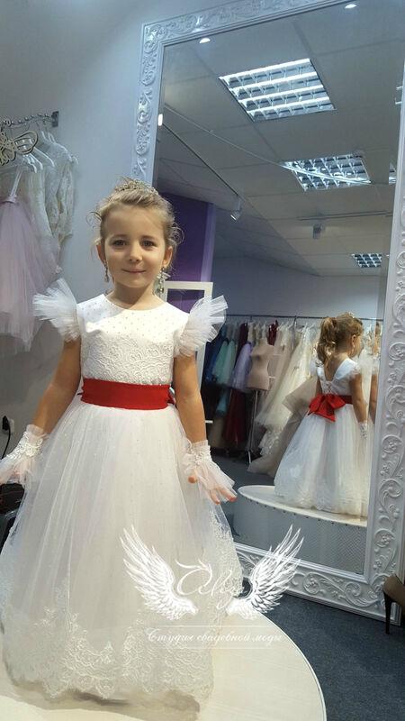 """Платье детское ALIZA детское платье """"Луиза 2"""" - фото 2"""
