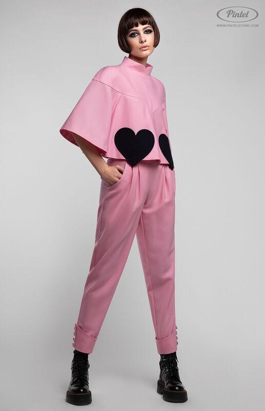 Костюм женский Pintel™ Брючный костюм из натуральной шерсти Shinele - фото 2
