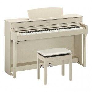 Музыкальный инструмент Yamaha Цифровое пианино Clavinova CLP-645WH - фото 4