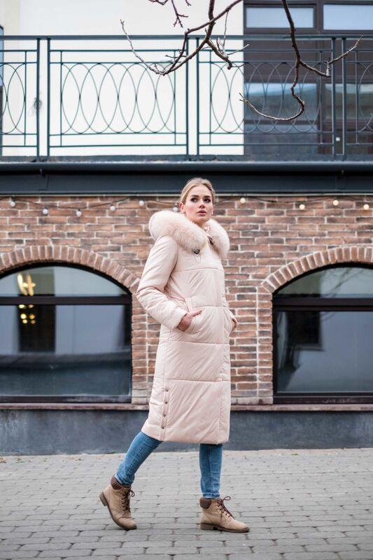 Верхняя одежда женская Elema Пальто женское плащевое утепленное 5-8146-1 - фото 2