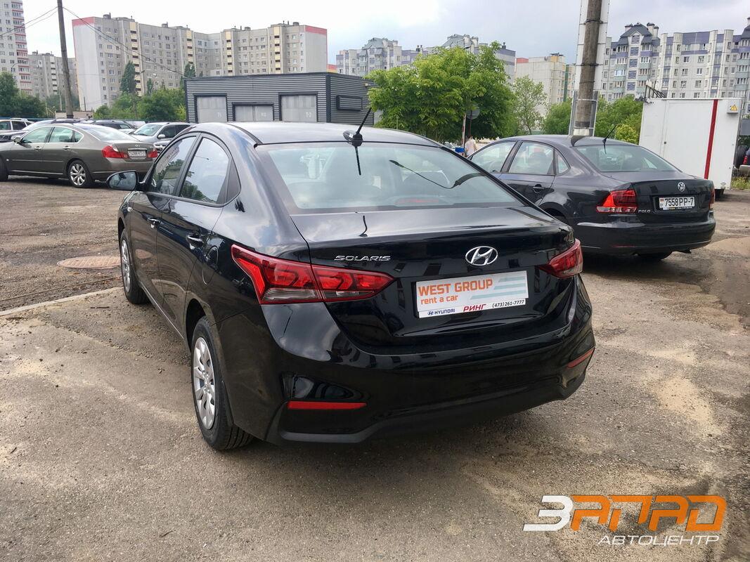 Аренда авто Hyundai Solaris 2017 - фото 3
