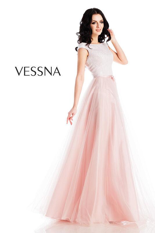 Вечернее платье Vessna Топ и Юбка длинная арт.1272 из коллекции VESSNA NEW - фото 1