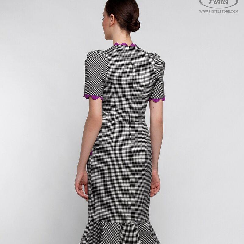 Платье женское Pintel™ Приталенное миди-платье Gaga - фото 1