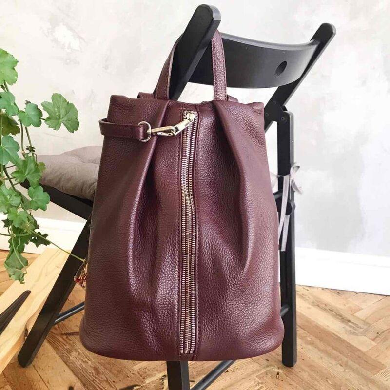 67c779c2c71d Купить Кожаный рюкзак С00199 Vezze в Минске – цены продавцов