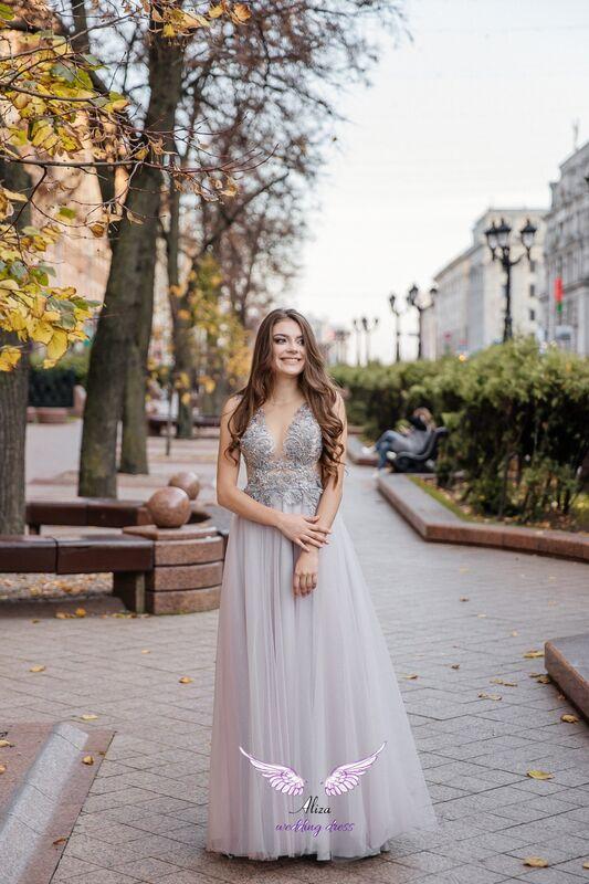 "Свадебный салон ALIZA Вечернее платье  прокат ""Lavanda"" - фото 1"