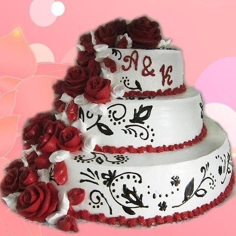 Торт Милано Свадебный торт №2 - фото 1
