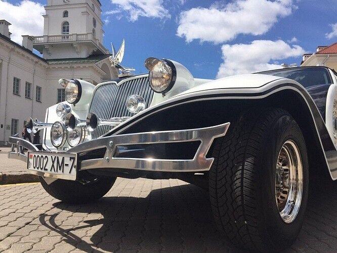 Прокат авто Excalibur Белый - фото 12