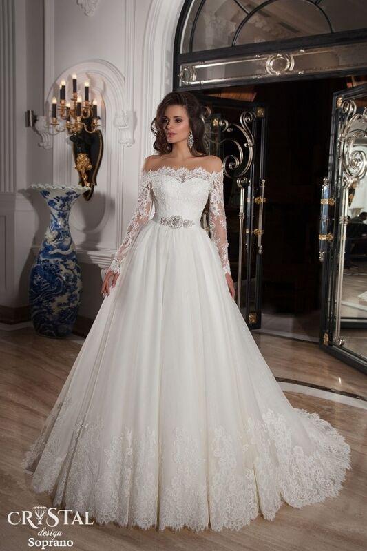 Свадебный салон Crystal Платье свадебное Soprano - фото 1