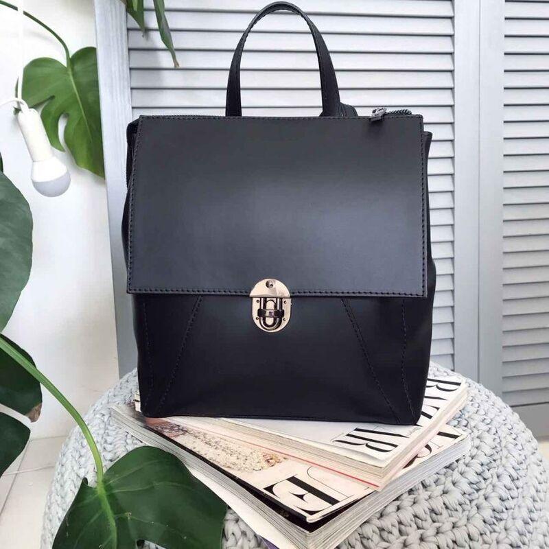 Магазин сумок Vezze Кожаный рюкзак C00220 - фото 1
