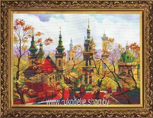 Товар для рукоделия Новая Слобода Набор для вышивания бисером «Львов» ННК1044 - фото 1