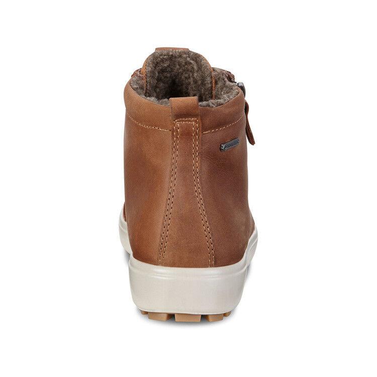 Обувь женская ECCO Кеды высокие SOFT 7 TRED 450163/02291 - фото 5