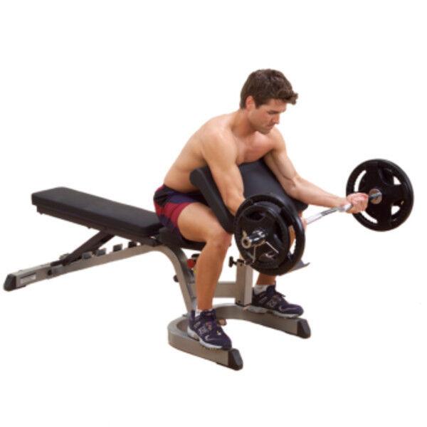 Тренажер Body-Solid Опция «Скамья Скотта» - фото 1