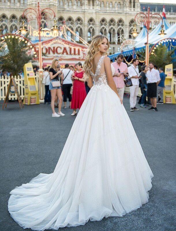 """Свадебный салон ALIZA свадебное платье  """"Vanesa"""" - фото 2"""