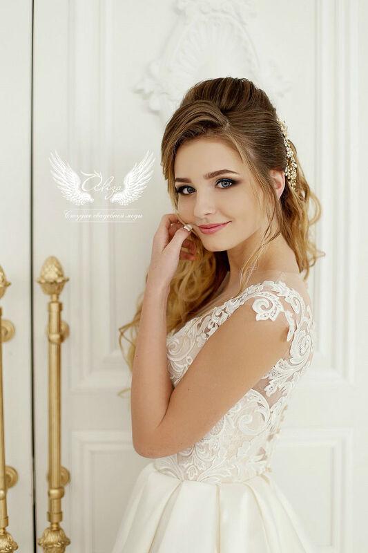 Свадебное платье напрокат ALIZA Свадебное платье «Verona» - фото 5