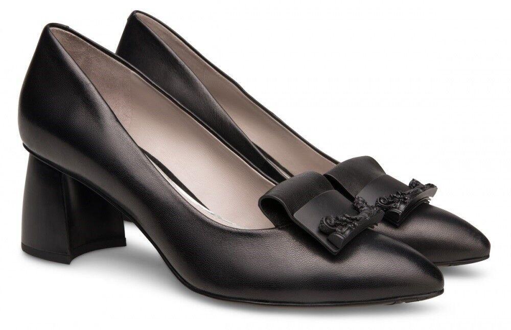 Обувь женская Alla Pugachova Туфли женские AP1535-08 black - фото 1
