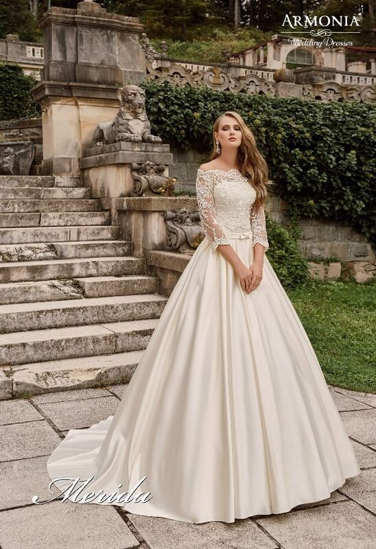 Свадебное платье напрокат Armonia Свадебное платье Merida - фото 1
